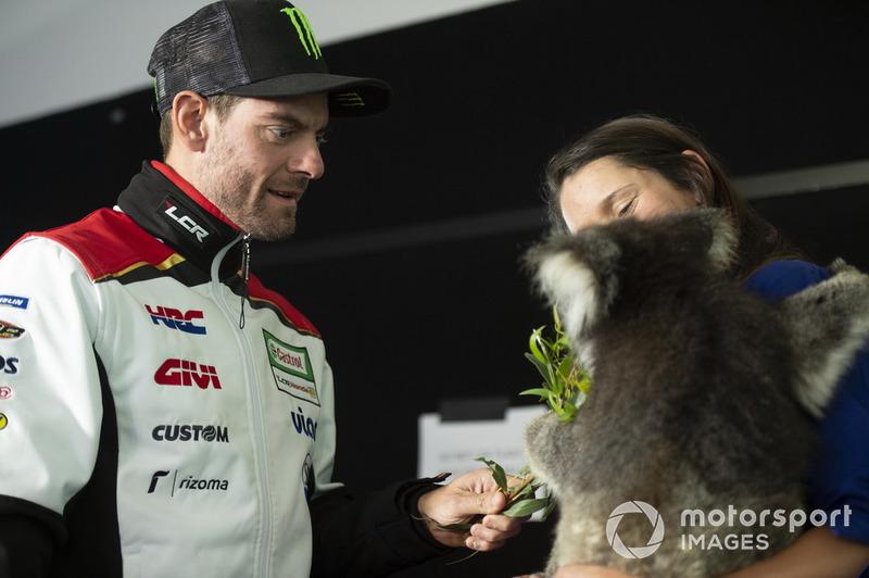 Cal Crutchlow, Team LCR Honda, Koala bear