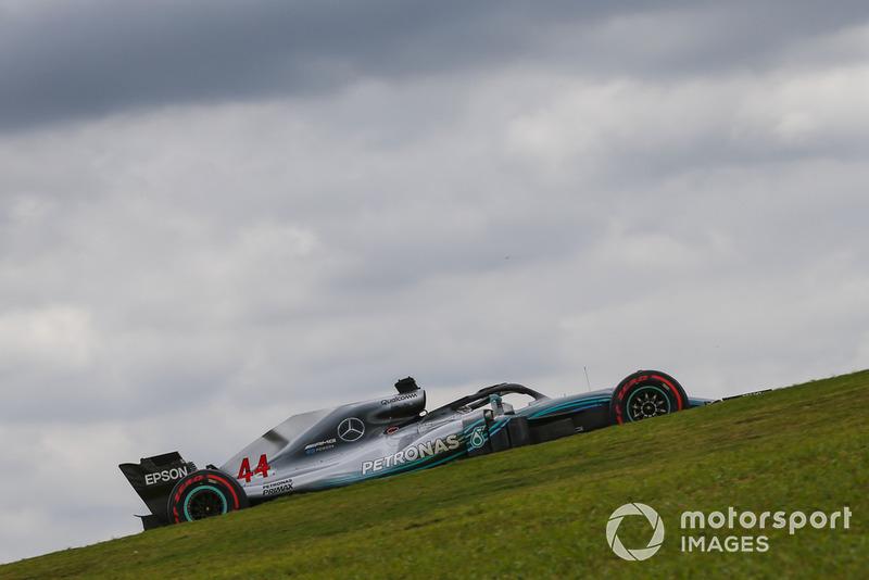 26º Lewis Hamilton, Mercedes AMG F1 W09, Interlagos 2018. Tiempo: 1:07.281
