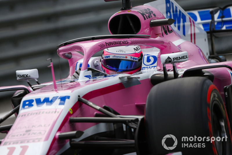 P10: Sergio Perez, Force India VJM11