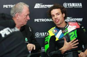 Ramon Forcada,, Franco Morbidelli, Petronas Yamaha SRT