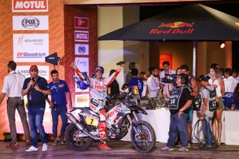 Podium: Hero Motorsports Team Rally: Oriol Mena
