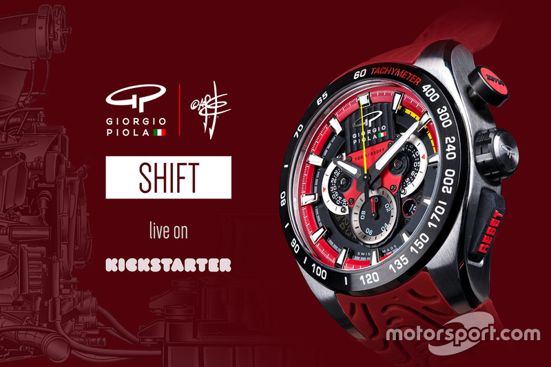 Reloj Giorgio Piola - rojo