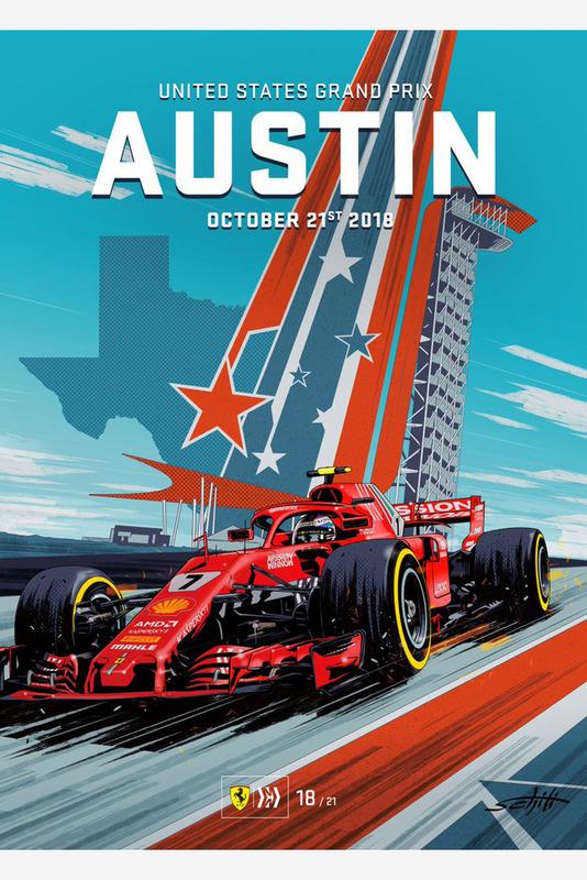 Постер Гран При США