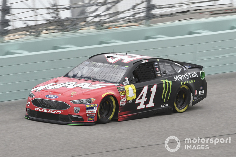 6. Kurt Busch, Stewart-Haas Racing, Ford Fusion State Haas Automation/Monster Energy