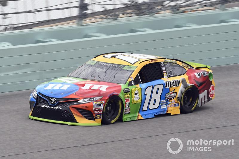 4. Kyle Busch (Gibbs-Toyota): P4 im Rennen