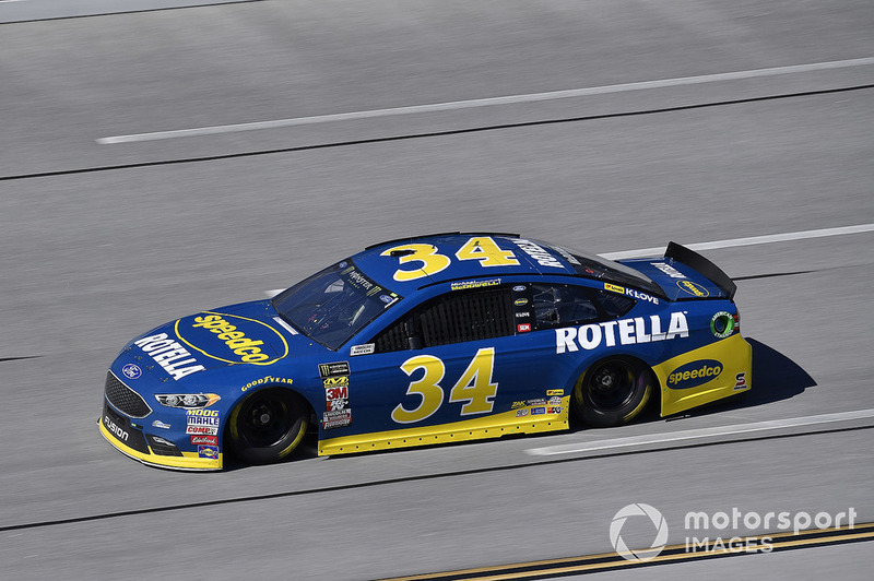 14. Michael McDowell, Front Row Motorsports, Ford Fusion Speedco/Rotella