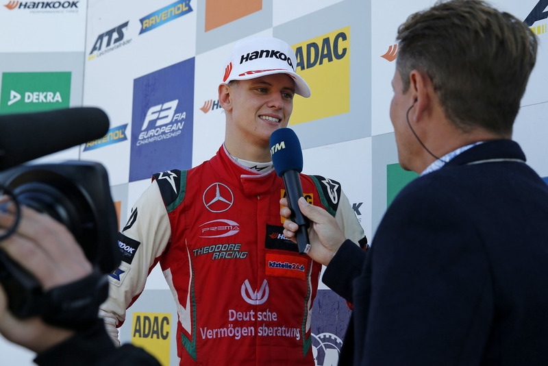 Телевезійне інтерв'ю, Мік Шумахер, PREMA Theodore Racing Dallara F317 - Mercedes-Benz