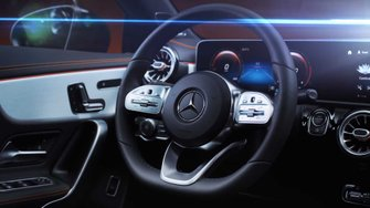 2020 Mercedes CLA Edition 1 teaser