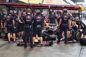 Prova di pit stop Red Bull Racing