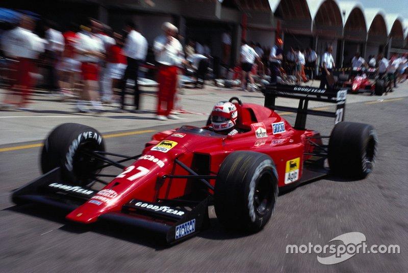 1989 Nigel Mansell, Ferrari