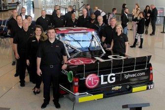 Gus Dean LG-sponsored NASCAR Truck