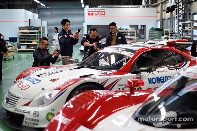 Rio Haryanto, Toyota Team Indonesia, Lexus SC430