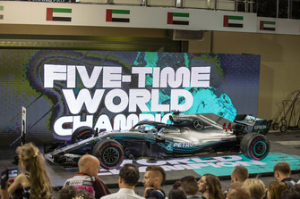 The car of Lewis Hamilton, Mercedes-AMG F1 W09 in Parc Ferme
