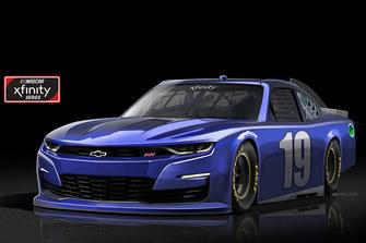 2019 Chevrolet Camaro for XFinity NASCAR Series