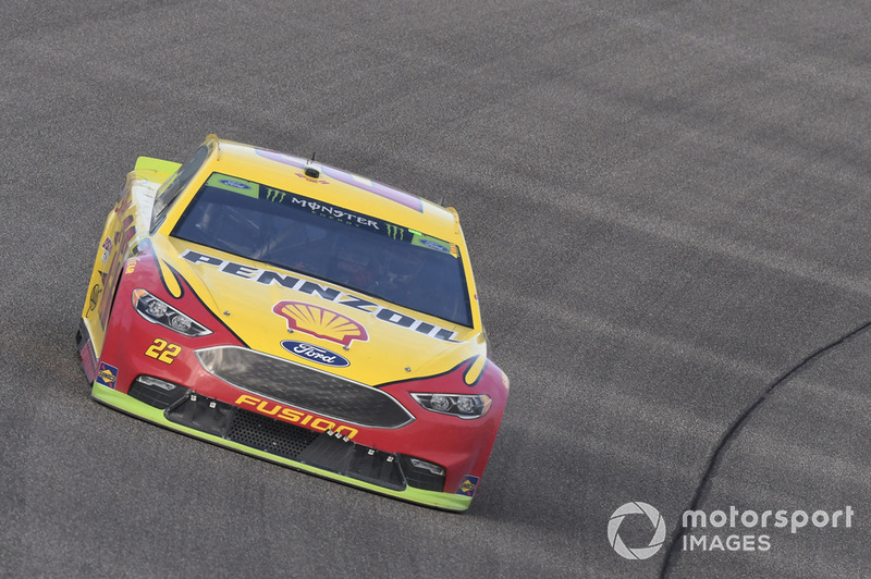 2018: Joey Logano, Team Penske, Ford Fusion Shell Pennzoil