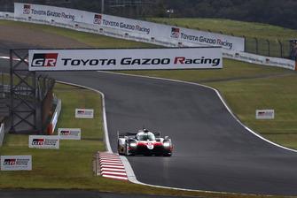 #8 Toyota Gazoo Racing Toyota TS050: Sebastien Buemi, Kazuki Nakajima, Fernando Alonso