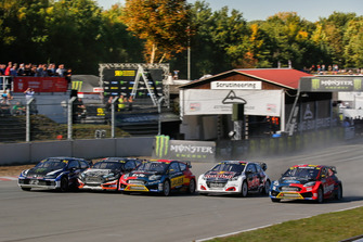 Start zum Qualifying der Rallycross-WM 2018 auf dem Estering in Buxtehude