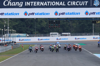 Start zum GP Thailand 2018 in Buriram