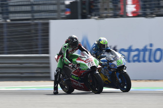 Scott Redding, Aprilia Racing Team Gresini, Franco Morbidelli, Estrella Galicia 0,0 Marc VDS