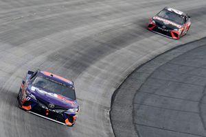 Denny Hamlin, Joe Gibbs Racing, Toyota Camry FedEx Express, Erik Jones, Joe Gibbs Racing, Toyota Camry Craftsman