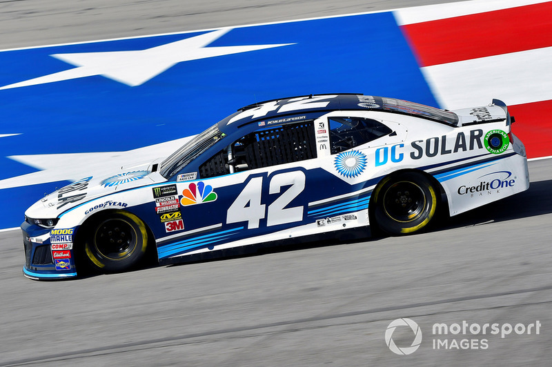 22. Kyle Larson, Chip Ganassi Racing, Chevrolet Camaro DC Solar