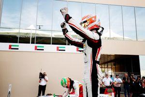 Anthoine Hubert, ART Grand Prix, festeggia dopo aver vinto il campionato