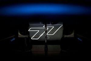 Numero di gara sulla macchina di Valtteri Bottas, Mercedes W12