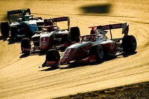 Olli Caldwell, Prema Racing, Dennis Hauger, Prema Racing and Caio Collet, MP Motorsport