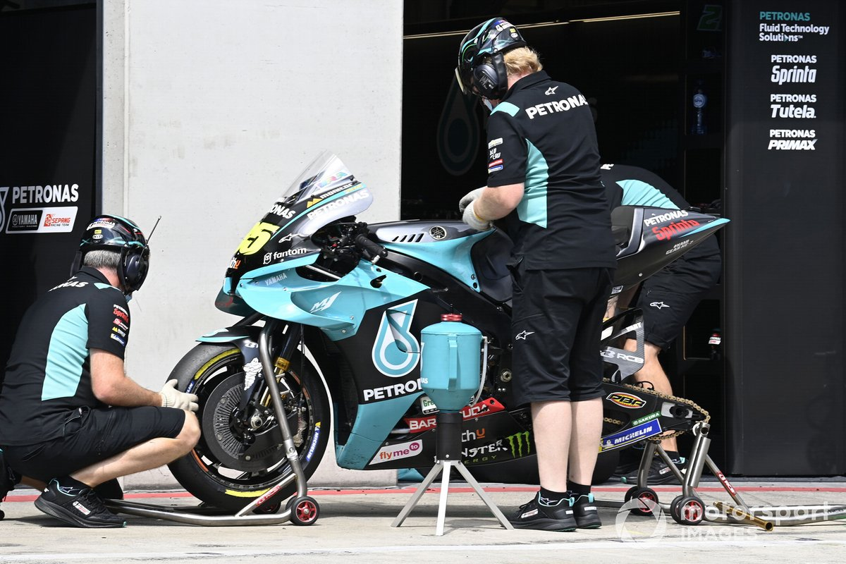 Equipaggio Petronas Yamaha SRT