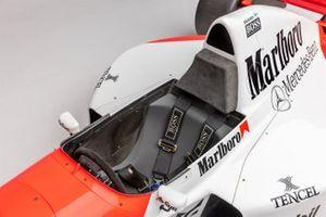 La McLaren MP4-10 de 1995 de Mika Hakkinen