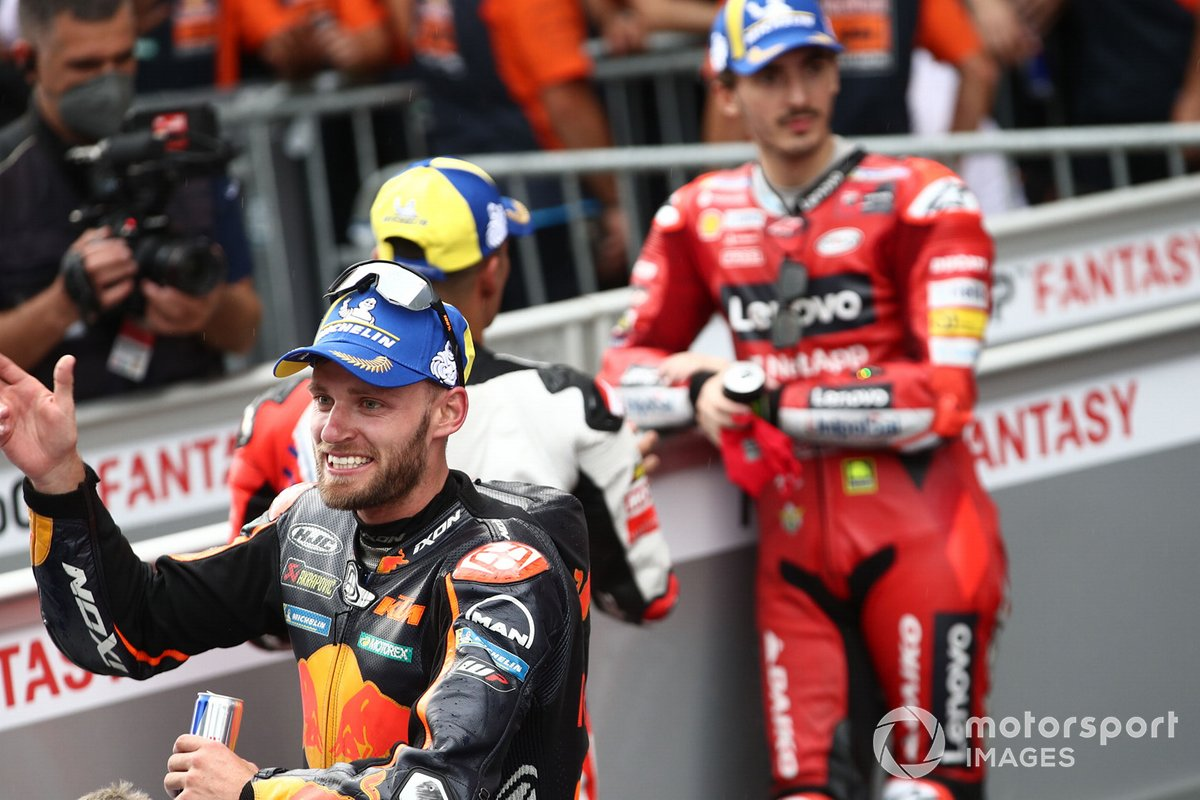 Ganador Brad Binder, Red Bull KTM Factory Racing