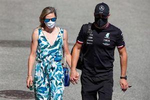 Tiffany Cromwell and Valtteri Bottas, Mercedes