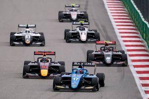Victor Martins, MP Motorsport Jak Crawford, Hitech Grand Prix Oliver Rasmussen, HWA Racelab