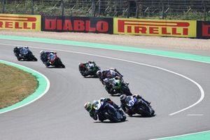 Dominique Aegerter, Ten Kate Racing Yamaha, Manuel Gonzalez, Yamaha ParkinGO Team, Can Oncu, Kawasaki Puccetti Racing
