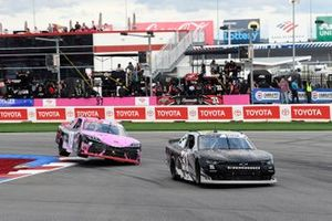 Sage Karam, Jordan Anderson Racing, Chevrolet Camaro BLACK OPS by Ric Prado, Daniel Hemric, Joe Gibbs Racing, Toyota Supra Poppy Bank