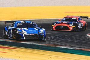 #25 Sainteloc Racing Audi R8 LMS GT3: Leo Roussel, Christopher Haase