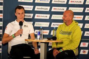 Ron Reichert, Team manager AF-Corse, Jens Feucht, Team manager T3-Motorsport