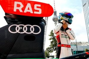 René Rast, Audi Sport ABT Schaeffler, Audi e-tron FE07 drives in the city of Berlin