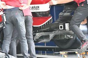 Detalle trasero del Alfa Romeo Racing C41