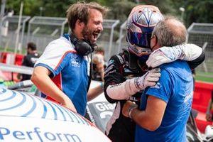 Leonardo Caglioni, Ombra Racing vince Gara 2