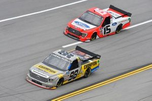 Grant Enfinger, ThorSport Racing, Toyota Tundra Champion/Curb Records, Tanner Gray, Team DGR, Ford F-150 Ford Performance