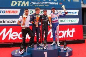 Podium: 1. Lucas Auer, 2. Liam Lawson, 3. Maximilian Götz