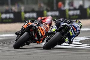 Brad Binder, Red Bull KTM Factory Racing, Cal Crutchlow, Yamaha Factory Racing