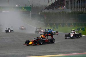 Jak Crawford, Hitech Grand Prix, Roman Stanek, Hitech Grand Prix and Johnathan Hoggard, Jenzer Motorsport