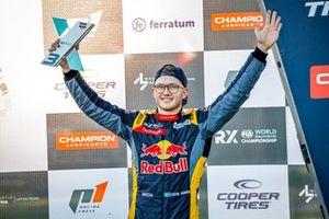 Podium : Kevin Hansen, Hansen World RX Team Peugeot 208