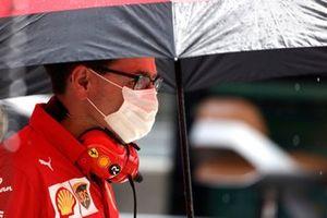 Mattia Binotto, Team Principal, Ferrari
