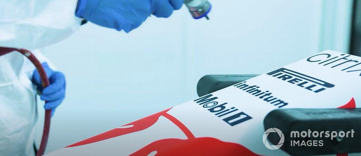 Teaser livrea Red Bull per celebrare la Honda