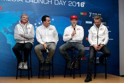 Norbert Michelisz, Rob Huff, Tiago Monteiro, Honda Racing Team JAS