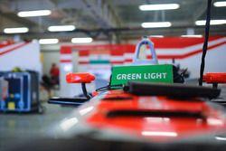 Mahindra Racing car detail