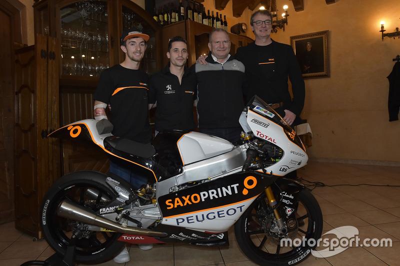 John McPhee, Saxoprint RTG et Alexis Masbou, Saxoprint RTG